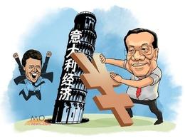 """意大利经济萎靡不振盼中国""""拯救"""""""
