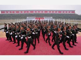 中国反法西斯大阅兵新武器表遭泄