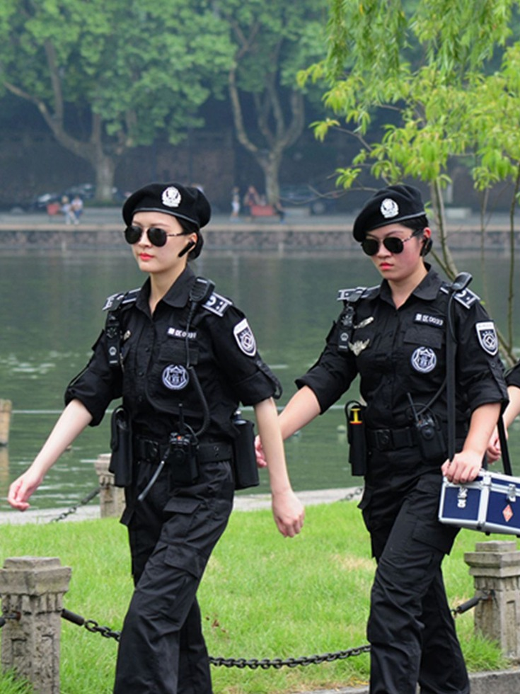 G20美女巡逻队貌美如花