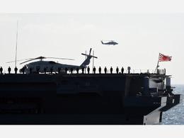 英法美日4国海军将在中国近海联合军演[图]