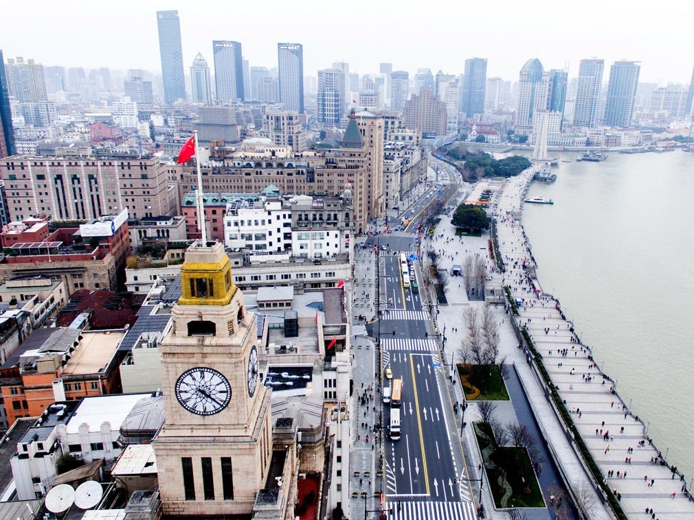 中国上海外滩地标建筑:最高点钟楼里隐藏的秘密[图集]