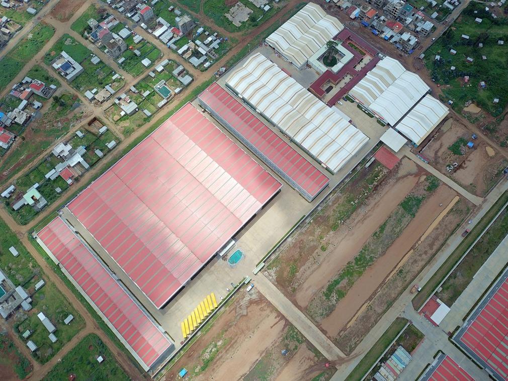 中国民营企业埃塞建厂 创造上万个就业机会[图集]
