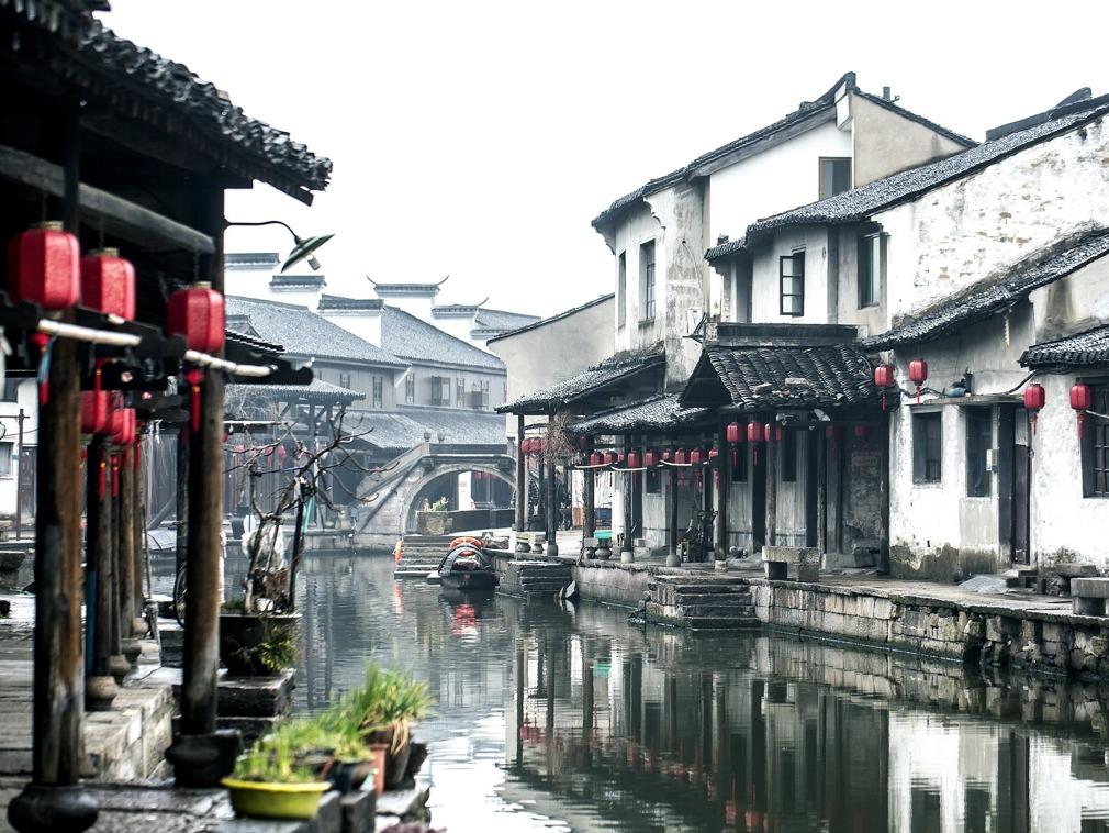 中国江南最原汁原味的水乡:绍兴东浦古镇[图集]